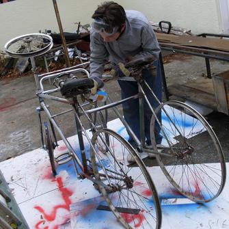 Са радионице Шта све могу да направим од старог бицикла?