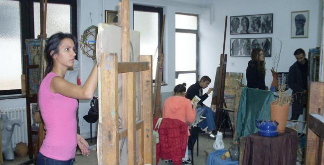 Из атељеа ѕа Цртање и сликање, води: мр Коча Огњановић