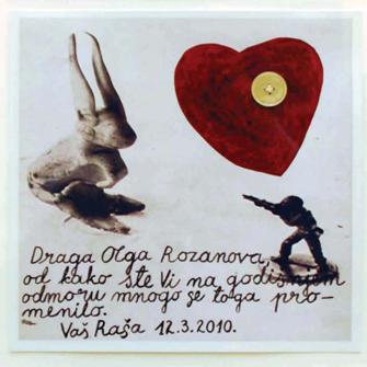 Драгољуб Раша Тодосијевић, Драга Олга Розанова, 2010.